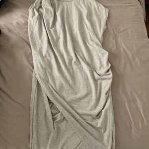 Dresses & Skirts - ASOS draped grey dress size 4